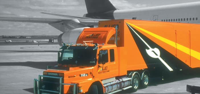 Allied Truck with Jet Plane