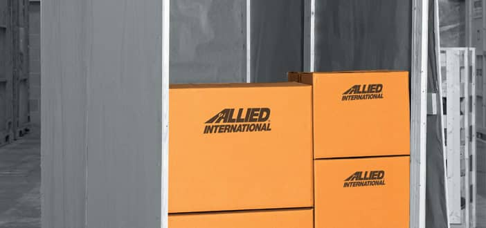 Allied Boxes in Crate
